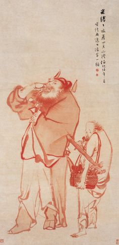 清代 - 任頤 - 鍾馗圖 軸