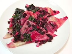 Red Beet and Goat Cheese Ravioli: A Savory, Antioxidant Pasta Bundle
