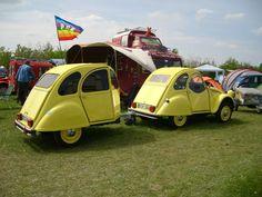 Hy Citroen, Automobile, 2cv6, Custom Trailers, Combi Vw, Car Carrier, Pt Cruiser, Car Trailer, Citroen 3cv