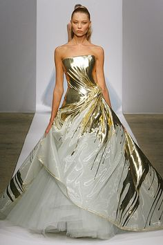 Georges Chakra Spring 2011 Couture  Serena's wedding dress! #gossipgirl