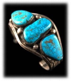 My mom has a bracelet just like this one so when I see turquoise I think of her :)