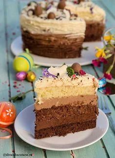 Delicious Deserts, Yummy Food, Cake Cookies, Cupcake Cakes, Cookie Recipes, Dessert Recipes, Romanian Desserts, Vegan Kitchen, Something Sweet