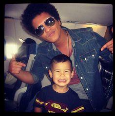 Bruno Mars and Kai. So cute!