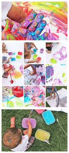 Family Process Art: Can art experiences bring families together? Fun Activities For Preschoolers, Preschool Art Projects, Craft Projects For Kids, Arts And Crafts Projects, Toddler Activities, Creative Activities, Art Activities, Painting For Kids, Art For Kids