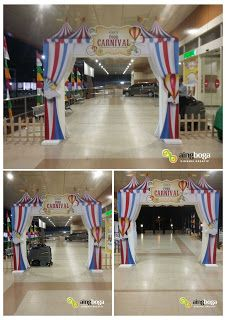 JASA PEMBUATAN BOOTH DISPLAY PAMERAN JAKARTA: ENTERANCE GATE Food Carnival at Plaza Taman Modern...