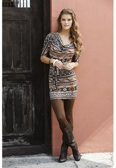 Lace dress outfit riding