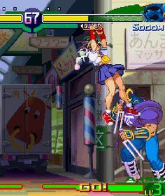 nicolas-chocolat2: Sakura Kusanogo | Street Fighter Alpha 3 (1998)
