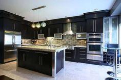 Cozinhas Pretas e Modernas!!! Inspire-se!