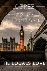 My recommendations for the best free things to do in London that locals who live there love {Big World Small Pockets}