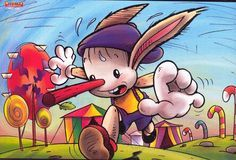 Material educativo para maestros: Imágenes para el cuento de Pinocho
