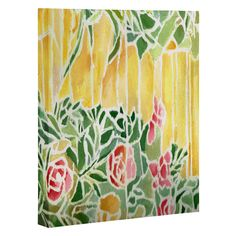 Rosie Brown Tiffany Inspired Art Canvas   DENY Designs Home Accessories