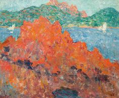 Louis Valtat (1869-1952) Les rochers rouges à Agay  IMPRESSIONIST AND MODERN ART 1 Mar 2018, 17:00 GMT  LONDON, NEW BOND STREET