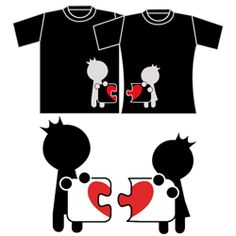 Complete My Heart Couple T-Shirts Black $42 here http://www.buy-gifts.us/2012/01/complete-my-heart-couple-t-shirts-black-2/
