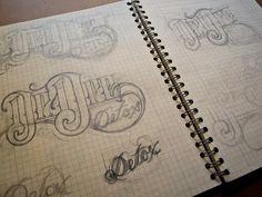 "Quotes Typo  Dr. Dre's ""Detox""  Michael Deal  Graphic Design"
