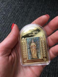 """Kolekcia """"Najkrajšie Madony"""" je úplne jedinečná. Len v Národnej Pokladnici môžete nájsť tehličky,  zušľachtené 24-karátovým zlatom s reprodukciami najkrajších sôch a obrazov Panny Márie Money Clip, Money Clips"""