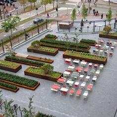Office Park Landscape Boxes