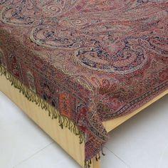 Amazon.com: Bedroom Decoration Indian Bedspread Woolen Blanket Warmer Twin: Home & Kitchen