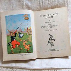 UNCLE WIGGLYS AIRSHIP Book 1939 Howard Garis Series by AzaleaTrail
