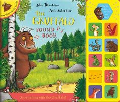 Booktopia has The Gruffalo Sound Book by Julia Donaldson. Buy a discounted Hardcover of The Gruffalo Sound Book online from Australia's leading online bookstore. Julia Donaldson Books, Jungle Sounds, Axel Scheffler, Gruffalo's Child, The Gruffalo, Great Books To Read, Kids Writing, Latest Books, Bedtime Stories