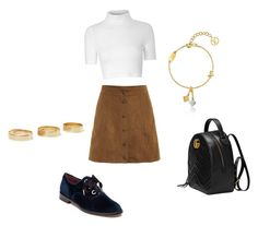 """ju"" by julinutella ❤ liked on Polyvore featuring Glamorous, Marc Jacobs, Gucci, Loren Stewart and Louis Vuitton"