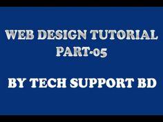web design bangla tutorial part 5
