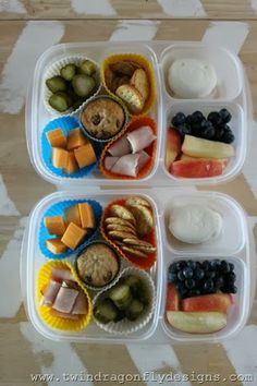 Rainbow Bento Box Lunch