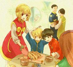 Kurapika family Hunter x Hunter