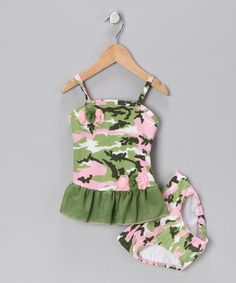 camo tankini swimsuit! This would cute on my daughter
