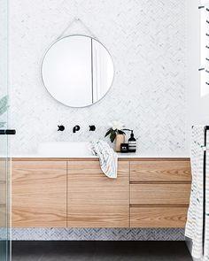 Have a peek below for Small Bathroom Renovation Ideas Diy Bathroom Remodel, Bathroom Renos, Bathroom Fixtures, Bathroom Cabinets, Bathroom Ideas, Bathroom Designs, Oak Bathroom, Bathroom Inspo, Bathroom Renovations
