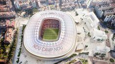 nice New Camp Nou |  Manica Architecture Check more at http://www.arch2o.com/new-camp-nou-manica-architecture/