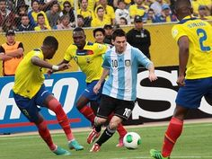 Argentina to host Ecuador for FIFA World Cup 2018 qualifying round-1 match on 8 October 2015. Get Ecuador vs Argentina match live telecast, tv channel info.