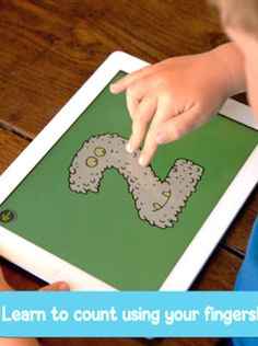 Kids count by number of fingers touching the screen and the number is read aloud instantly. Try a new way to learn numbers, addition and subtraction. #kidsapps