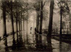 Léonard MISONNE (1870-1943) - Reflets, vers 1935