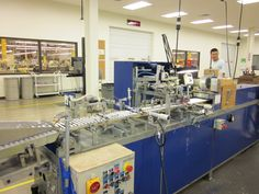 Dart Factory Visit: Pen Assembly Machine