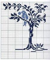 ru / Photo # 1 - different - irinika Cross Stitch Designs, Cross Stitch Patterns, Swedish Weaving, Crochet Birds, Simple Cross Stitch, Cross Stitch Embroidery, One Color, Needlework, Creations