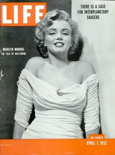 retro 50s family life | LIFE Magazine, April 7, 1952. Marilyn Monroe's debut on the magazine's ...