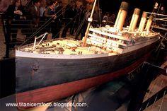 TITANIC EM FOCO: Maquete do Titanic: Artista inglês constrói modelo exato do transatlântico em casa