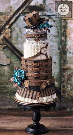 steampunk cake design