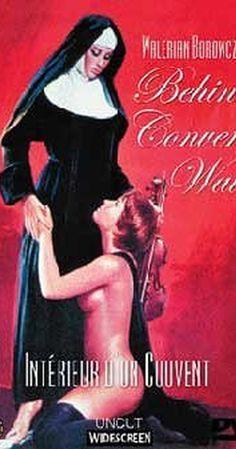 Behind convent walls Pulp Fiction Book, Fiction Movies, Black Widow Wallpaper, Hot Nun, Classic Film Noir, Movies To Watch Online, Vintage Horror, Romance Movies, Lesbian Love