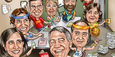 Custom Caricature From Photos Website - Personalized Custom Caricature Gifts Caricature Gifts, Caricature From Photo, Funny Retirement Gifts, True Art, How To Draw Hands, Princess Zelda, Bike, Website, Artist