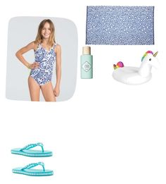 """""""Going to the beach"""" by girly-kaitlyn2764 ❤ liked on Polyvore featuring Billabong, Benefit and Isa Tapia"""