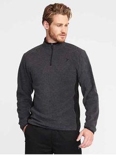 Old Navy Go-Warm Performance Fleece Pullover for Men How To Get Warm, Mens Activewear, Shop Old Navy, Active Wear, Men Sweater, Pullover, Zip, Long Sleeve, Mens Tops