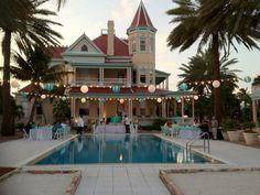 you can get married on the beach in this beautiful mansion too! just call       Make your dream wedding come true:                     1-866-383-6810 #dreamwedding #keywestwedding #dayofwedding #weddingplannerkeywest #planmywedding #wedding #fantasywedding #beachwedding