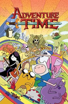 It's ADVENTURE TIME! Join Finn the Human, Jake the Dog, and Princess Bubblegum for all-new adventures through The Land of Ooo. The totally algebraic adventures of Finn and Jake have come to the comic