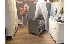 Babykamer Bopita Ideeen : Ledikant commode costa wit babykamer commodes