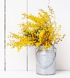 Decorate your house with beautiful, cheap & eco friendly ways Yellow Bouquets, Yellow Flowers, Feng Shui, Le Mimosa, L Eucalyptus, Home Living, Mellow Yellow, Color Of The Year, Bridesmaid Bouquet