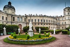 Gatchina's Grand Palace is a fine stately home in the suburbs of St. Petersburg, where several of Russia's emperors lived with their families. Find out more about the Grand Palace and other attractions at Gatchina.