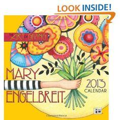 "Mary Engelbreit's illustrations for ""Time For Tea""   Mary Engelbreit 2013 Mini Wall Calendar: The Art of Giving"