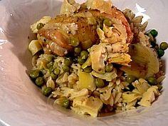chicken with lemon artichoke sauce