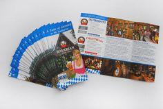 Bavarian Grill Haus brochure design and print